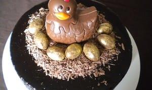Gâteau de Pâques au chocolat : la poule aux œufs d'or