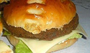 Hamburger aux lentilles