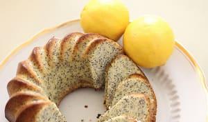 Gâteau au citron avec graines de pavot