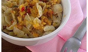 Conchiglie sauce fenouil et citron confit