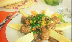 Tajine de boulettes viande hachée