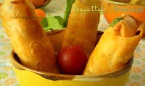 Bourek au fromage & crevettes