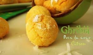 Ghribia a la noix de coco