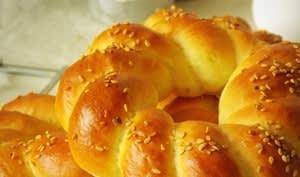 pain simit, pain turc au sésame