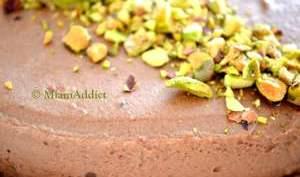 Bavarois Chocolat Biscuit Pistache