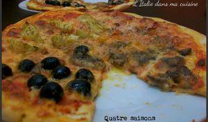 Pizza Quatre Saisons