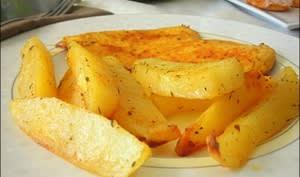 Pommes de terre épicées au four