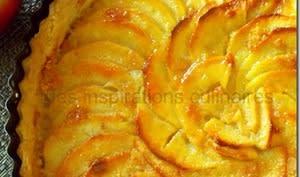 Tarte aux pomme au beurre et à la cannelle