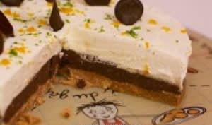 Ganache chocolat noir orange et ganache chocolat blanc citron vert