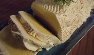 Bûche glaçée vanille pistache