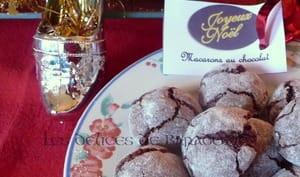 Macarons italiens au chocolat