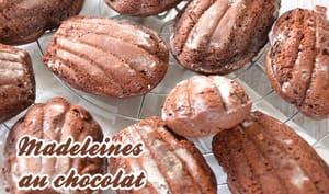 Madeleines au chocolat de Jacques Genin