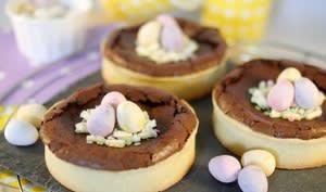 Tartelettes au chocolat de Pâques