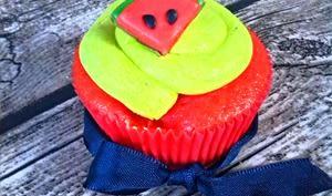 Cupcakes pastèque citron