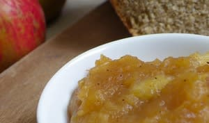 Pâte à tartiner aux pommes, miel de châtaigner et cannelle de Ceylan façon Philippe Conticini