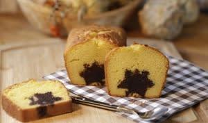 Cake au potiron et au chocolat