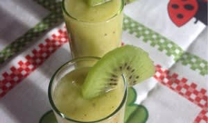 Smoothie kiwi-banane-pomme