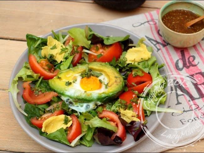 Avocat œufs cocotte