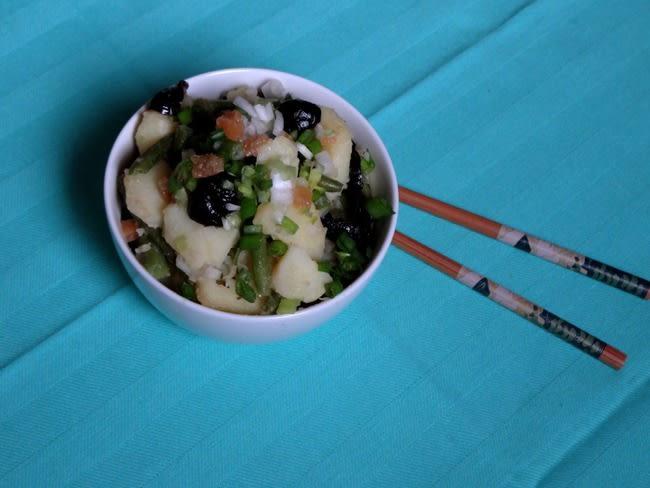 Salade niçoise ou presque
