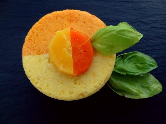 Mousseline aux deux carottes