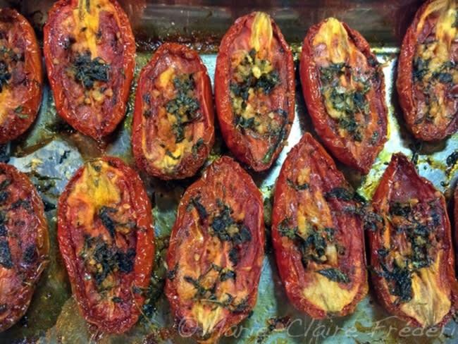 Comment faire des tomates confites