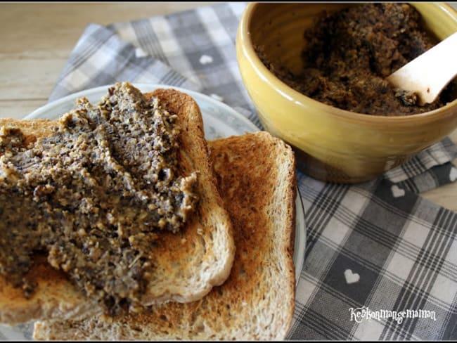 Tartinade végétale aux lentilles et noix de cajou