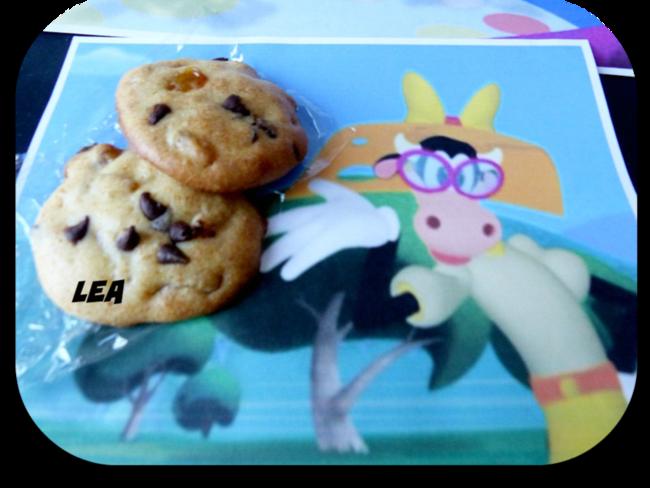 Biscuits aux raisins de Clarabelle