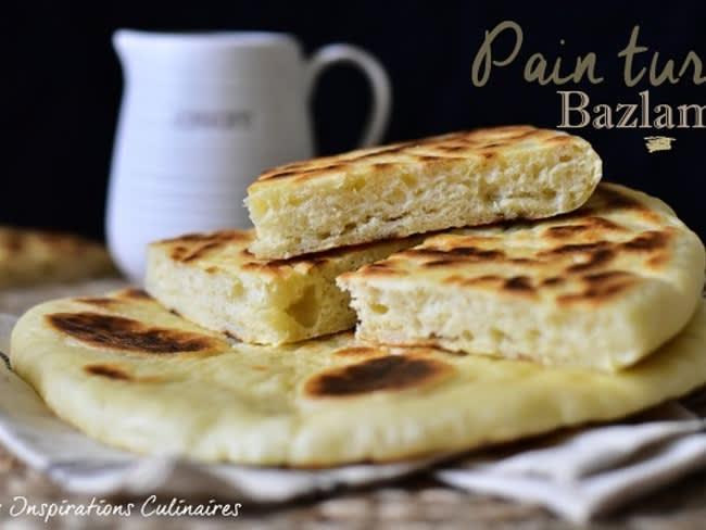 Bazlama, pain turc à la poêle