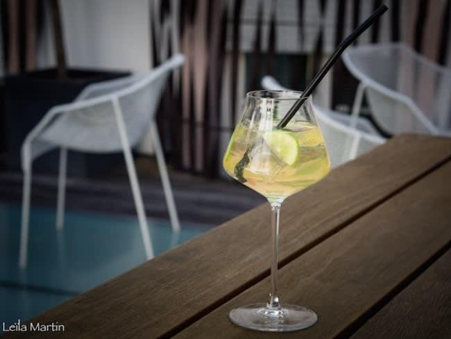 Limoncello spritz au crémant d'Alsace