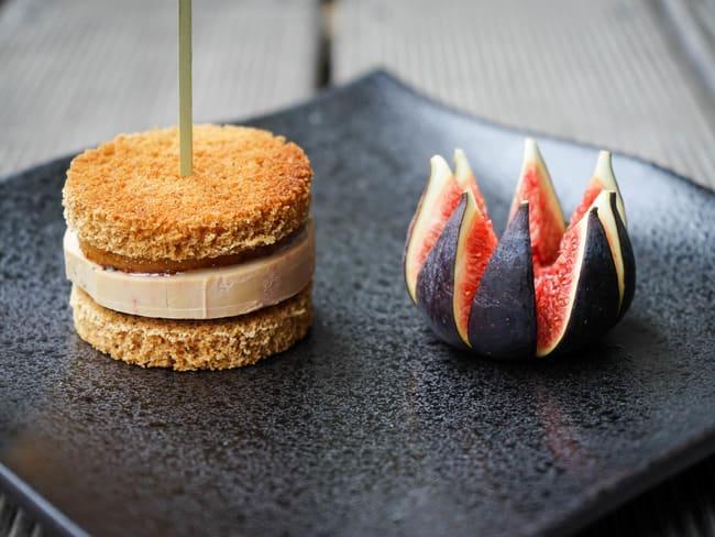 Burger de foie gras sucré-salé
