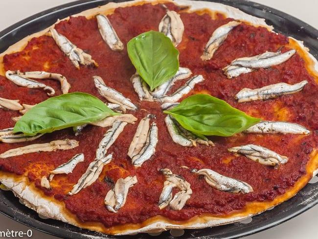 Pizza aux anchois
