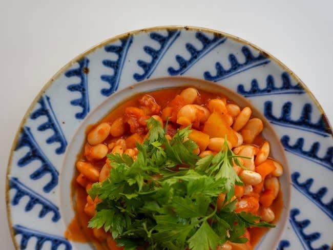 Mijoté gourmand de haricots aux épices