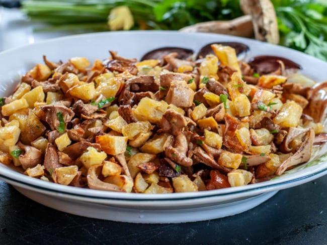 Girolle aux pommes de terre