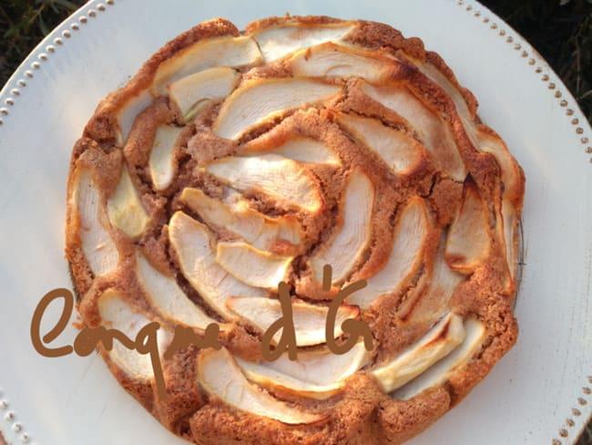 Gâteau aux pommes à la farine complète de Tumminìa et à l'huile d'olive