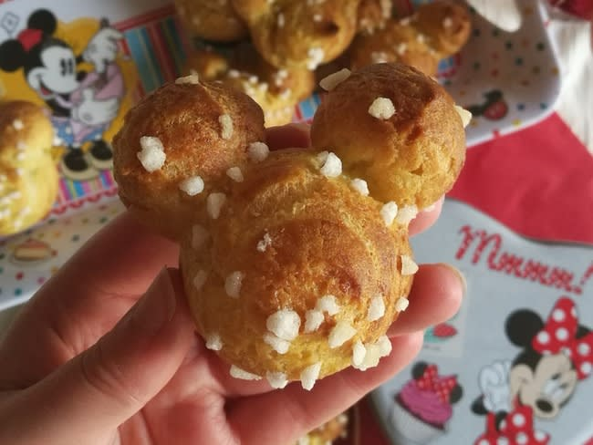Chouquettes Mickey