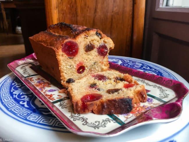 Cake aux fruits confits 100% végétal
