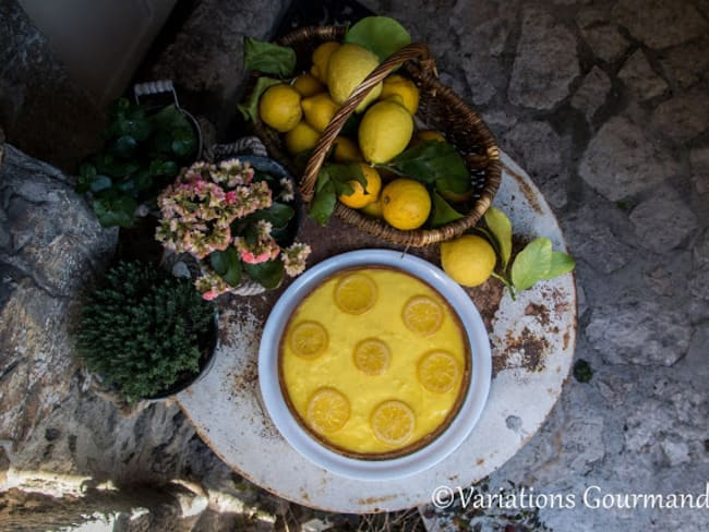 Tarte au citron de Menton