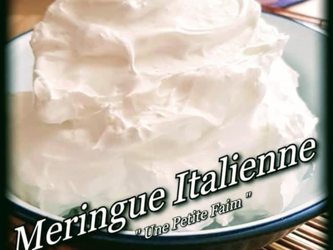 Meringue italienne