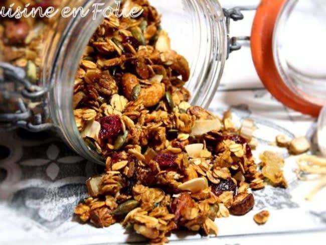 Muesli gourmand handmade