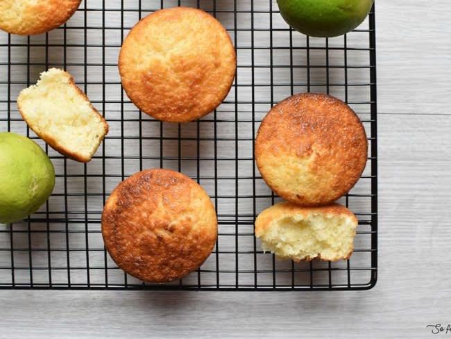 Cake citron vert et noix de coco