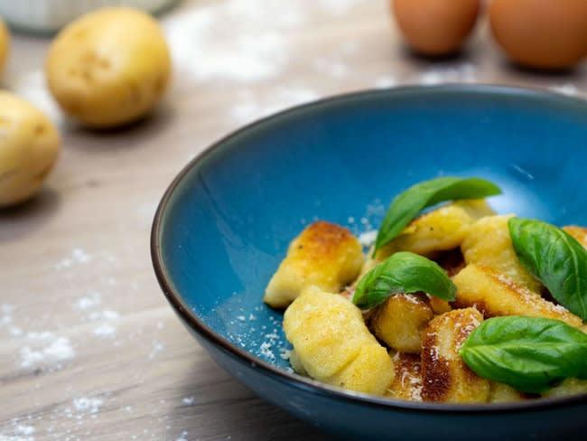 Gnocchi de pommes de terre maison à l'italienne