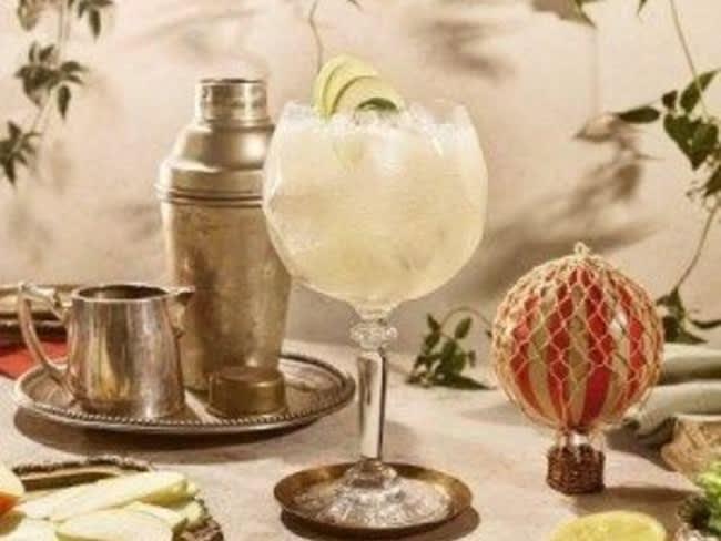 Orchard Collins cocktail à base de Hendricks