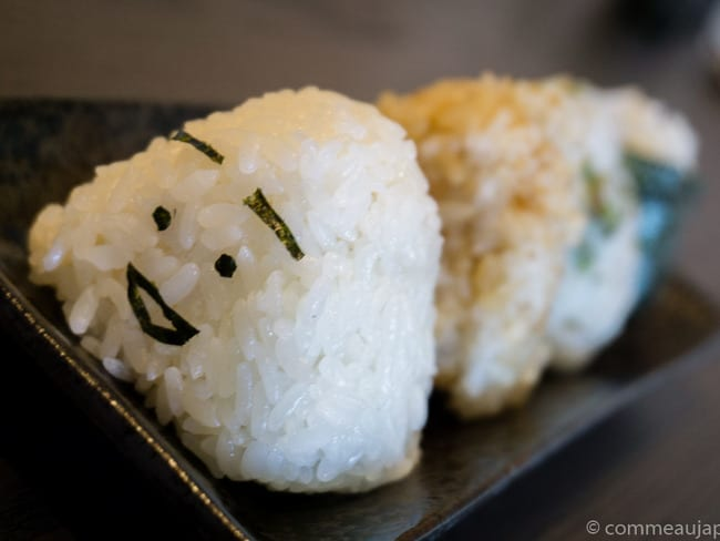 Onigiri - Sandwich de riz japonais