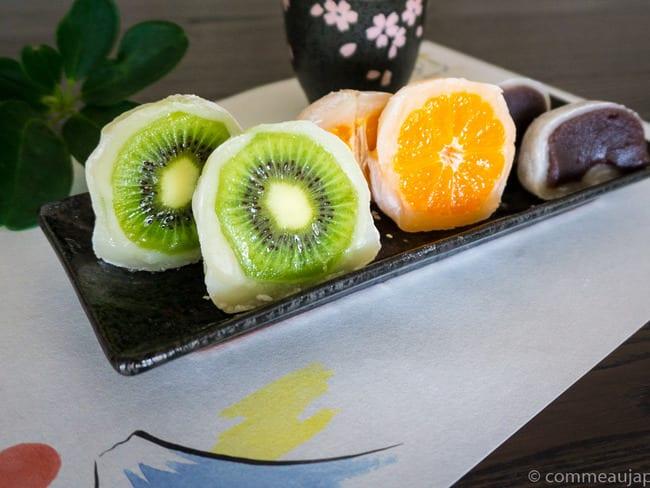 Daifuku Mochi aux fruits