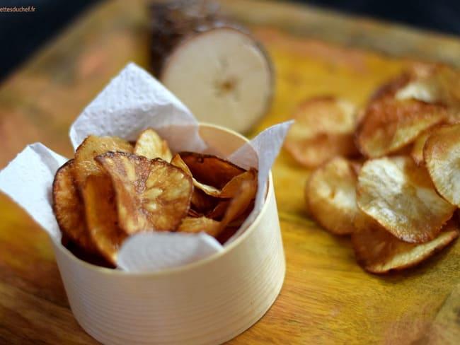 Chips De Manioc Recette Par Recettes Du Chef