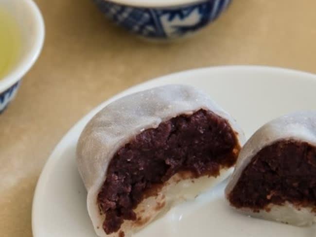 Daifuku mochi (大福) , pâtisserie japonaise