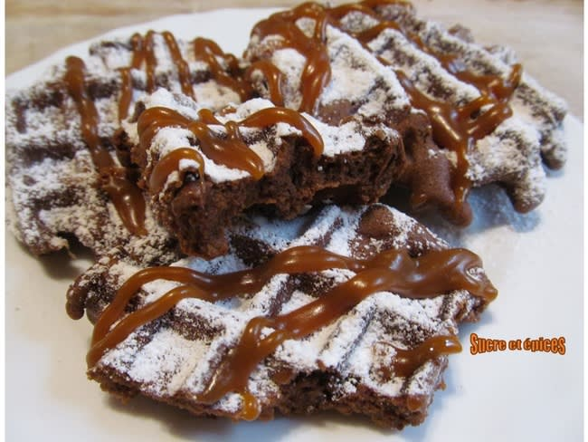 Gaufres brownie