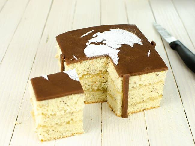 Earth cake sans gluten