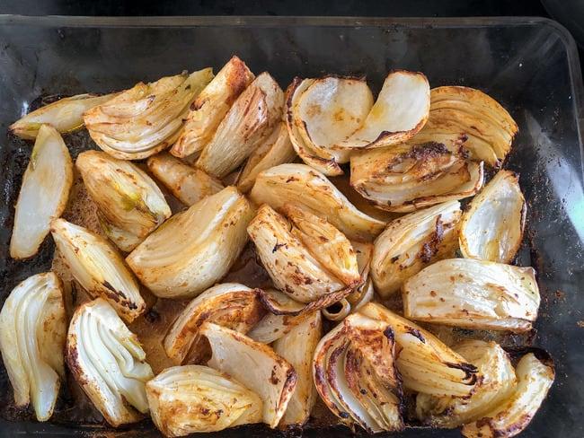 Fenouil rôti aux épices