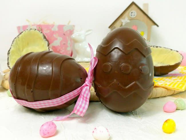 Oeufs de Pâques façon Kinder Surprise